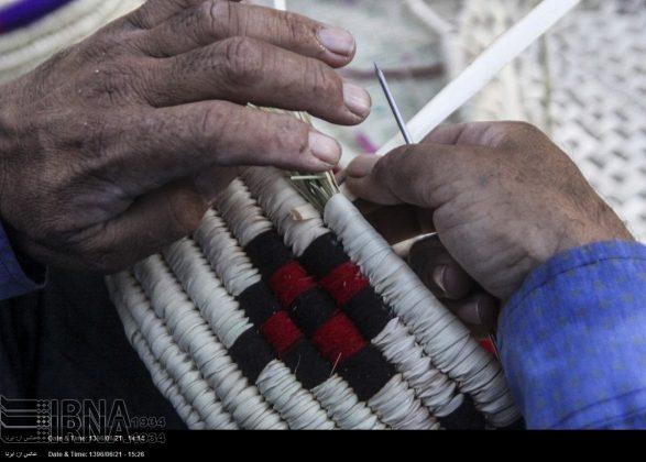 حیاکة الخوص حرفة قدیمة في کرمان4