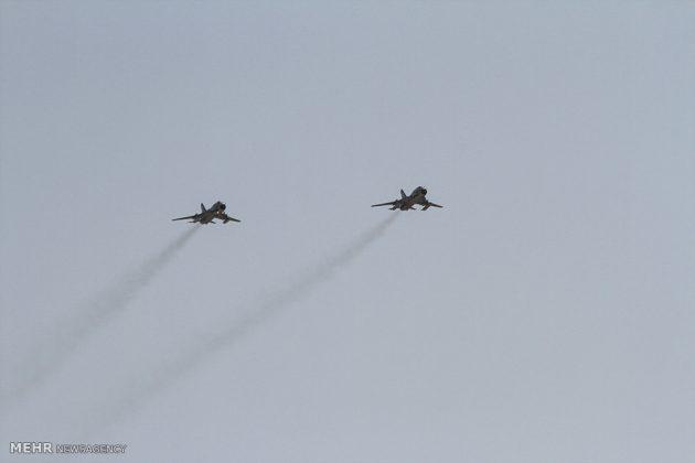 """مناورات القوات الجوية الإيرانية في """"بندرعباس""""4"""