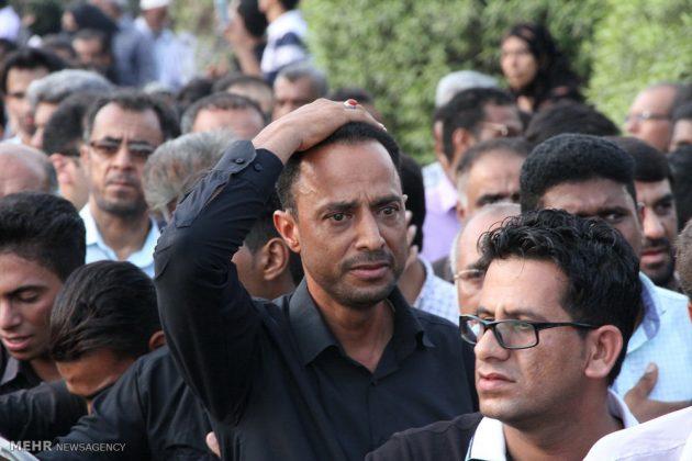 ايران .. مراسيم تشييع جثامين تلميذات لقين مصرعهن بحادث 5