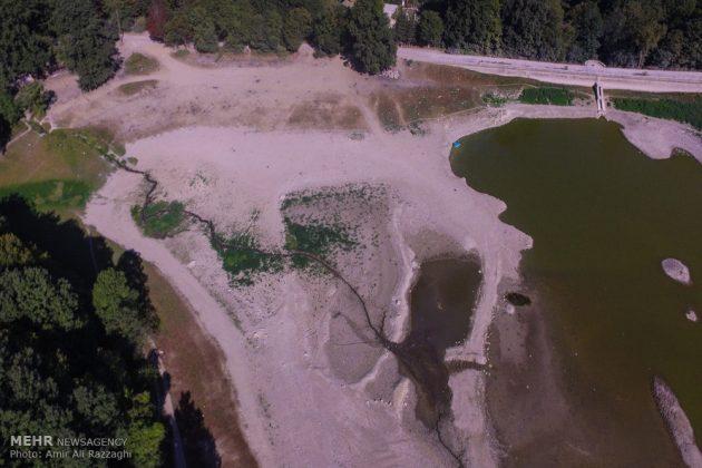 بحيرات محافظة مازندران الايرانية تواجه خطر الجفاف5