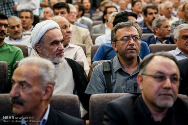 """مراسم تأبين وزير الخارجية الايراني الاسبق """"ابراهيم يزدي""""5"""