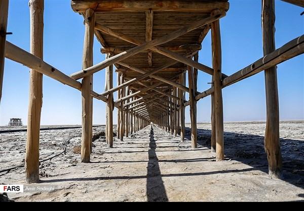 جفاف بحيرة ارومية 5