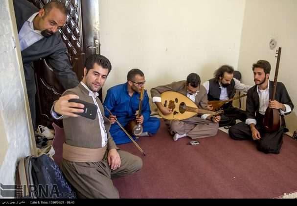 """مهرجان """"الطنبور"""" فی کرمانشاه الايرانية5"""