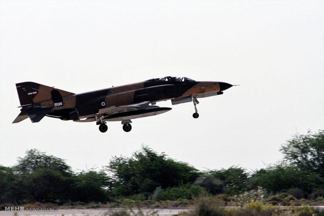 """مناورات القوات الجوية الإيرانية في """"بندرعباس""""5"""