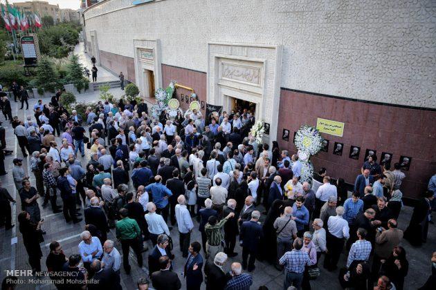 """مراسم تأبين وزير الخارجية الايراني الاسبق """"ابراهيم يزدي""""6"""