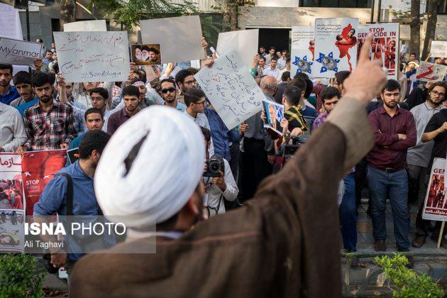 جامعيون يعتصمون امام مكتب الامم المتحدة بطهران6