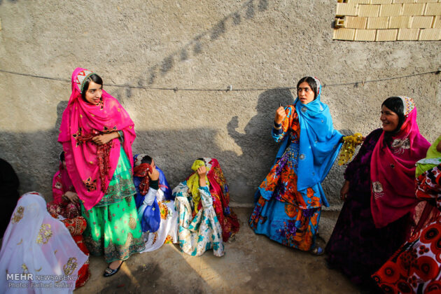 Symphony of Colours in Iran's Local Wedding Ceremonies6