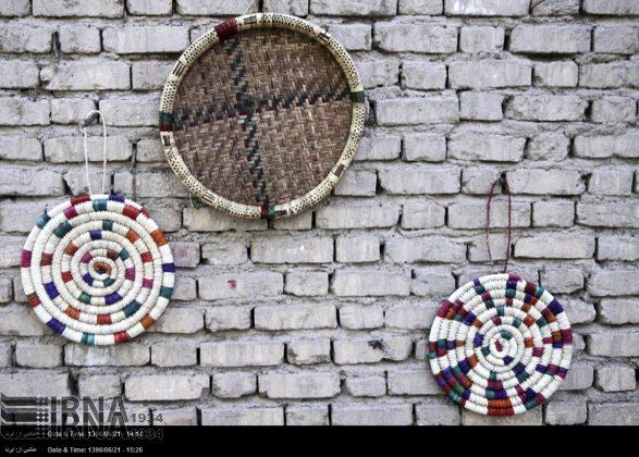 حیاکة الخوص حرفة قدیمة في کرمان6