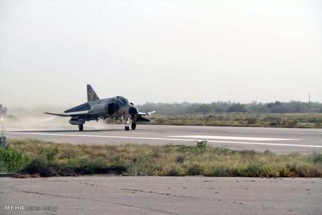 """مناورات القوات الجوية الإيرانية في """"بندرعباس""""6"""