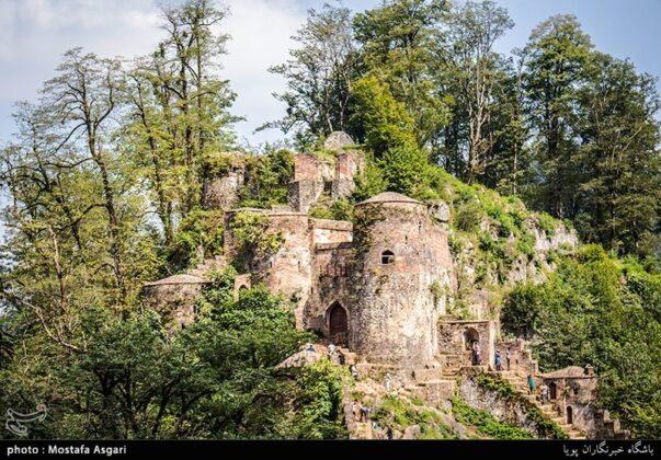 Iran's Beauties in Photos: Enchanting Rudkhan Castle6