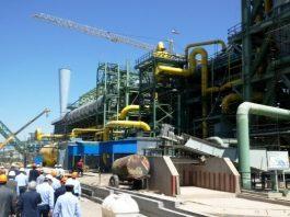 تدشين مشروع انتاج الحديد الاسفنجي بتقنية ايرانية