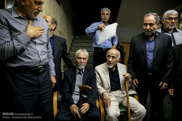"""مراسم تأبين وزير الخارجية الايراني الاسبق """"ابراهيم يزدي""""7"""