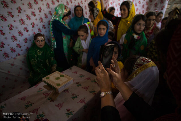 Symphony of Colours in Iran's Local Wedding Ceremonies7