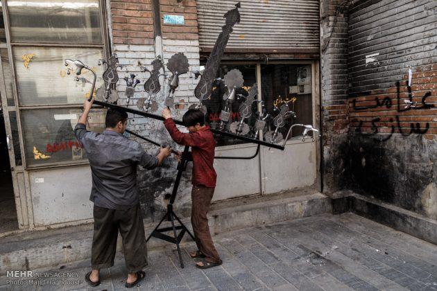 ايران تستعد لإستقبال شهر محرم الحرام7