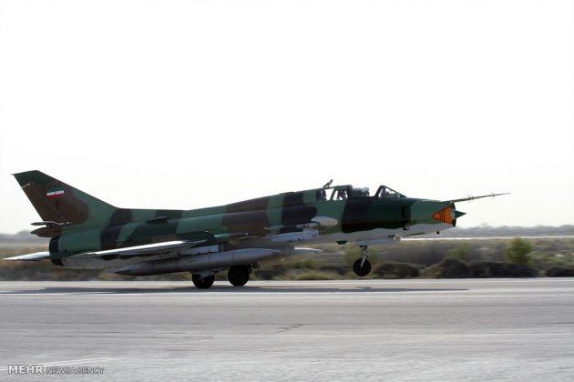 """مناورات القوات الجوية الإيرانية في """"بندرعباس""""7"""