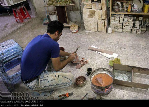 الصناعات الیدویة فی کردستان الايرانية 7