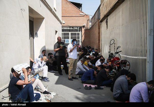 مراسم دعاء يوم عرفة في طهران 8