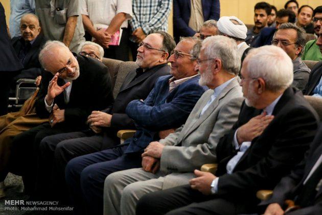 """مراسم تأبين وزير الخارجية الايراني الاسبق """"ابراهيم يزدي""""8"""