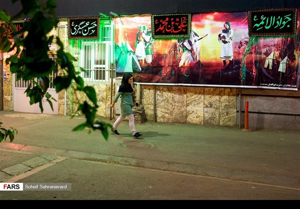 طهران تلبس ثوب الحزن بمناسبة عاشوراء 8