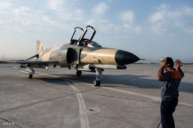 """مناورات القوات الجوية الإيرانية في """"بندرعباس""""8"""
