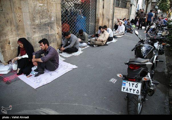 مراسم دعاء يوم عرفة في طهران 9