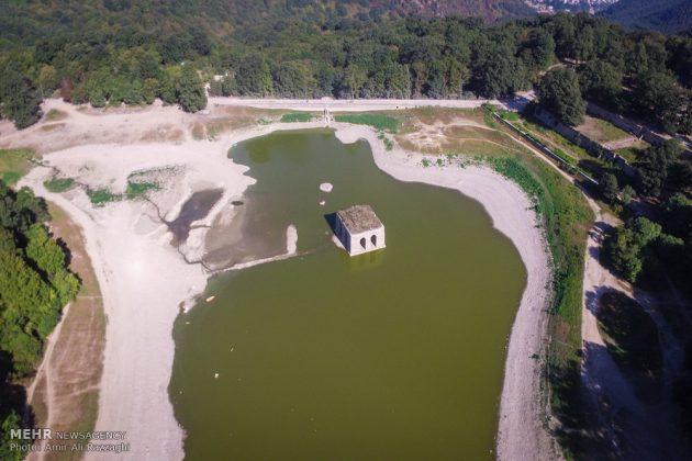 بحيرات محافظة مازندران الايرانية تواجه خطر الجفاف9