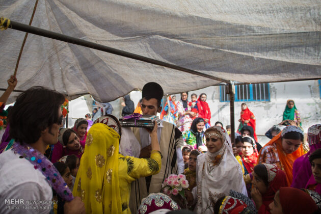 Symphony of Colours in Iran's Local Wedding Ceremonies9