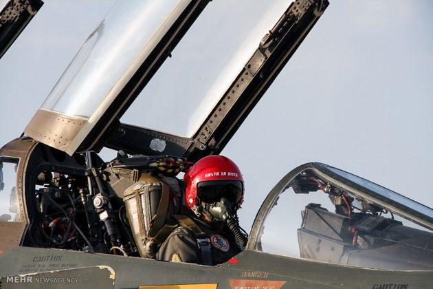 """مناورات القوات الجوية الإيرانية في """"بندرعباس""""9"""