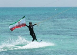 Int'l Federation Permits Iranian Women to Waterski with Hijab