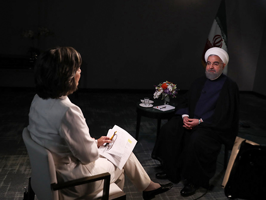 Iran President Warns Trump against Scrapping Nuclear Deal