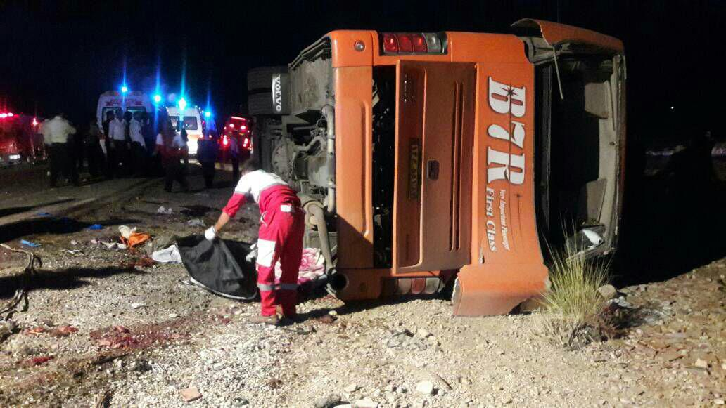 School Bus Crash Kills 12, Injures 33 in Southwestern Iran