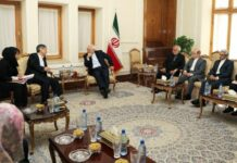 Iranian FM, Japanese PM's Envoy Discuss N. Korea Crisis
