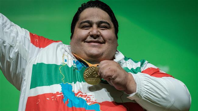 iranian powerlifter awarded best male paralympian of year