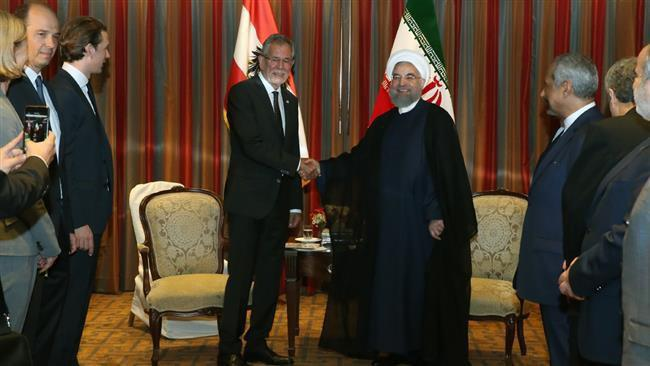 Iran's president held a meeting with his Austrian counterpart