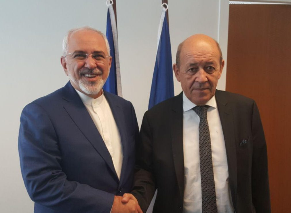 Iran FM Holds Talks with French, German Counterparts
