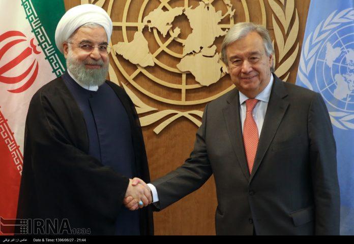 الرئيس الايراني-استفتاء كردستان امر خطير جدا