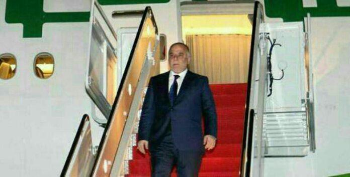 Iraqi PM Abadi Arrives in Tehran