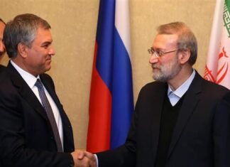 """In a Friday meeting with Vyacheslav Volodin, the speaker of the lower house of Russia's Parliament, Ali Larijani slammed Washington for repeatedly violating the nuclear deal since it took effect in January 2016. """"If the US fails agreements on the Joint Comprehensive Plan of Action (JCPOA) on the Iranian nuclear program, nothing will remain from the deal,"""" said Larijani. The two senior parliamentarians further discussed Iran-Russia parliamentary ties and other bilateral issues, including Washington's hostile policies against Tehran and Moscow. The deal between Iran and the P5+1 group of countries -- the US, the UK, France, Russia, and China plus Germany -- lifted nuclear-related sanctions against Iran, which, in turn, placed certain limits on its nuclear energy program. Trump has called it an """"embarrassment"""" to the US, and is expected to refuse to certify Iran's commitment to the deal during a White House speech later in the day. If Trump refuses to certify the deal, the Congress will have 60 days to decide whether to restore the sanctions against the Islamic Republic that the US has agreed to waive. Larijani added, """"We would like to thank Russia for its position, as well as (Foreign Minister) Sergei Lavrov, who participated in the P5+1 meeting in New York."""" According to the Iranian speaker, during the group's most recent meeting, Lavrov said """"openly and transparently that the US had violated JCPOA."""" The Russian speaker slammed Washington's stance on the JCPOA, as well as the use of sanctions as a tool to advance personal agendas. He said Moscow was against the use of double standards, and understood Iran's concerns. Trump to step back? Meanwhile, the Middle East Eye news portal quoted US officials as saying Friday that Trump will go ahead and """"decertify the deal,"""" but will shy away from his toughest threat of killing the agreement. Besides the """"decertification"""" of Iran's compliance with the JCPOA, Trump is also reportedly expected to blacklist Iran's Islamic Revolut"""