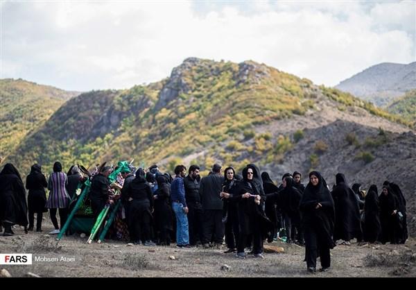 مراسم عاشوراء في ساري شمال ايران 1
