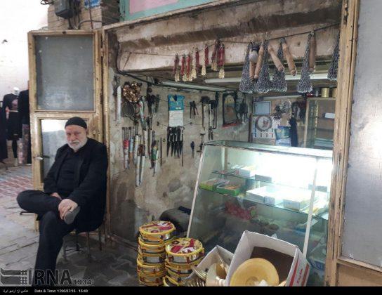 سوق سمنان القديم1