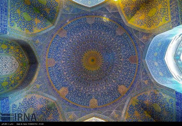 مسجد الامام في اصفهان 1