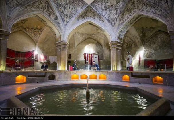 حمام الوکيل في مدينة شيراز1