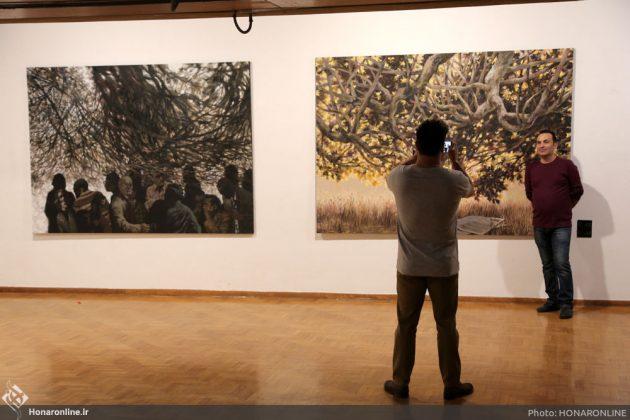 افتتاح نمایشگاه آثار نقاشی70 سال اخیر در فرهنگسرای نیاوران1