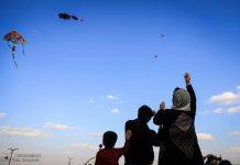 احتفال الطائرات الورقية في همدان الايرانية 1
