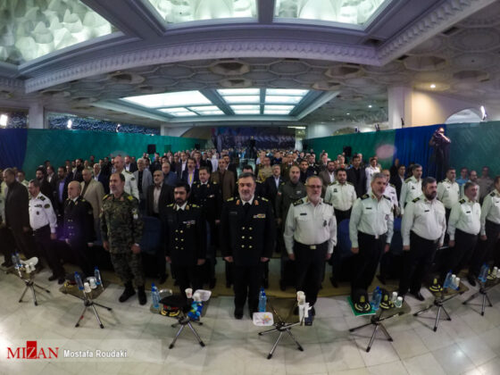 Tehran Hosts Police, Safety, Security Equipment Exhibition1