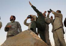 زيارة رئيس هيئة الاركان الايرانية لمناطق العمليات بسوريا1