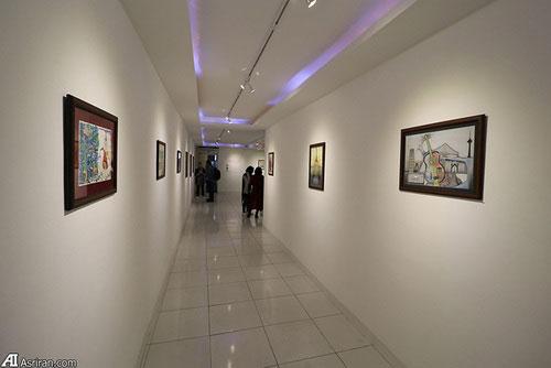 برگزاری نمایشگاه نقاشی سه خواهر افغان در تهران1