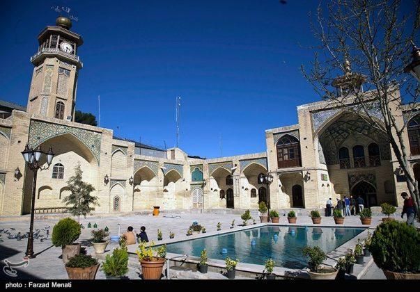 مسجد عماد الدولة التاريخي في كرمانشاه الايرانية1
