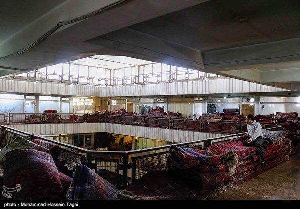 سوق السجاد في مدينة مشهد 1