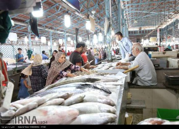سوق السمک في بندر عباس جنوب ايران 1